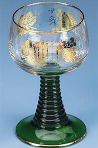German Roemer Wine Glass