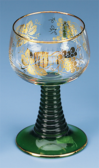 German Roemer Wine Glass