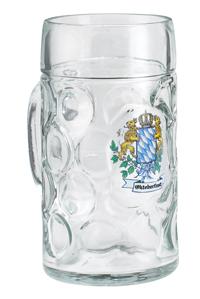 Bavarian Crest Oktoberfest Mug 1 Liter